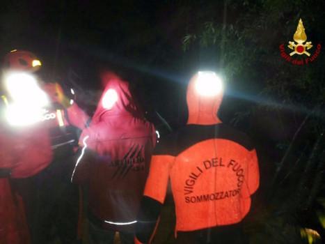 I vigili del fuoco soccorrono 7 persone a Barberino Val d'Elsa