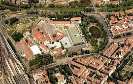 L'area della Fortezza da Basso ospita la mostra dell'Artigianato