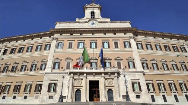 Palazzo Monte Citorio, sede della Camera dei Deputati