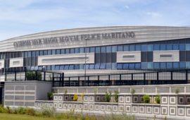 La facciata della nuova Scuola Marescialli a Castello