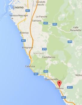 Chioma è tra Quercianella e Castiglioncello
