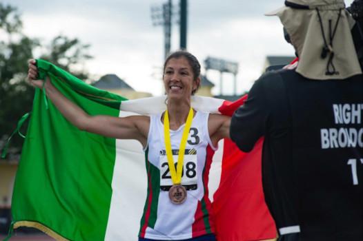Caporal Maggiore Scelto Monica Contrafatto bronzo sui 100 mt