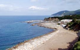La spiaggia e il porticciolo di Chioma