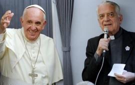 Papa Francesco e padre Federico Lombardi