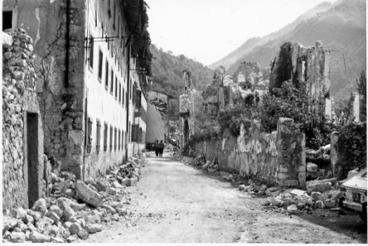 La frazione Portis vecchio a Venzone, il paese fantasma