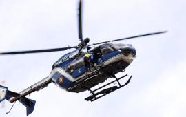 Un elicottero della Gendarmeria francese