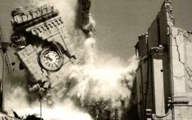 Una storica immagine del terremoto del Friuli del 1976
