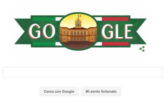 Il doodle di Google di oggi 2 giugno 2016