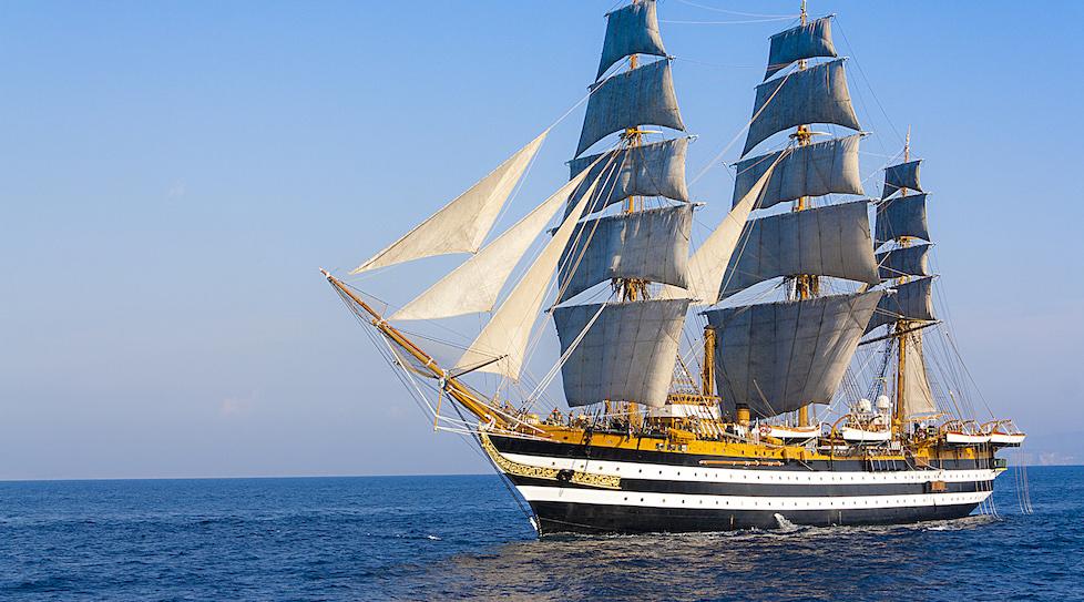 Su Nave Vespucci strumenti del Cnr per controllare l' aria sul mare
