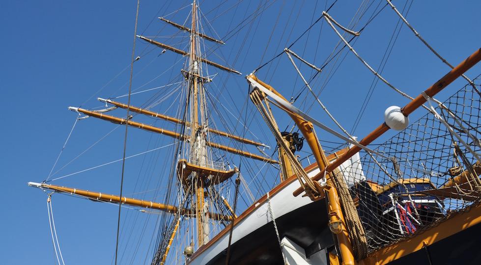 La nava scuola Amerigo Vespucci