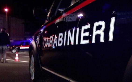 L'uomo è stato arrestato nella notte dai Carabinieri
