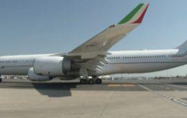 L' Airbus 340-500 della Presidenza del Consiglio