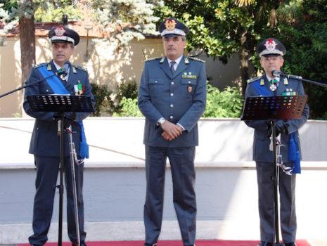 da sin. i generali Cuzzocrea, De Gennaro e Lipari