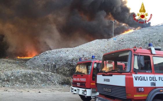 L'Incendio della discarica del Cassero a Serravalle Pistoiese
