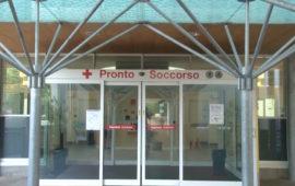 L'ingresso del Pronto Soccorso all'ospedale fiorentiino di Careggi