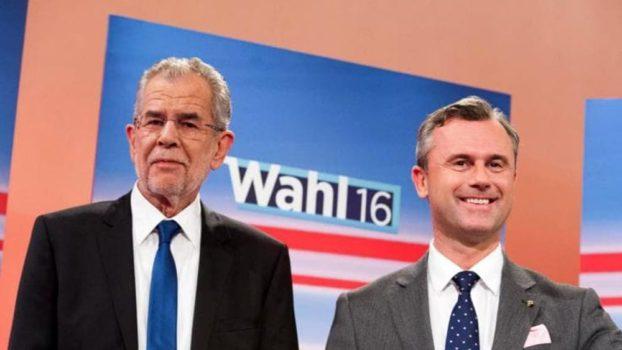 Alexander Van der Bellen e Norbert Hofer