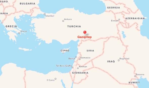 L'attentato a Gaziantep in Turchia