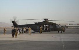 Un elicottero italiano in Afghanistan