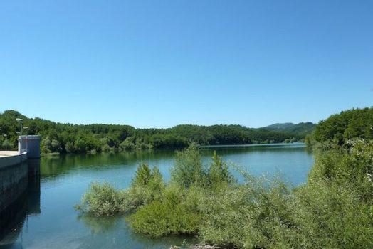 Il lago di Scandarello alle porte di Amatrice