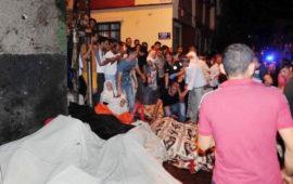 L'esplosione a Gaziantep