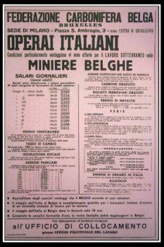 L'annuncio di lavoro in Belgio
