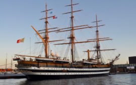 Nave Vespucci a Copenaghen