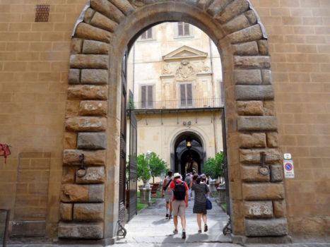 L'ingresso a Palazzo Medici Riccardi da via de'Ginori  (Foto da IlReporter.it/GC)