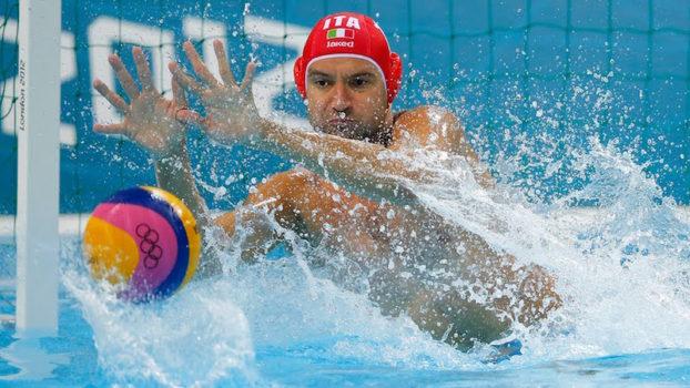 Stefano Tempesti, di Prato, portiere della Nazionale di pallanuoto