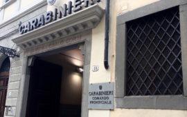 Il comando provinciale Carabinieri di Firenze