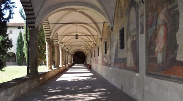 Il portico del Chiostro Grande di Santa Maria Novella sarà riaperto al pubblico