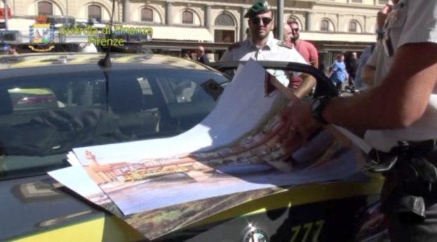 Controlli e sequestri della Finanza a Firenze