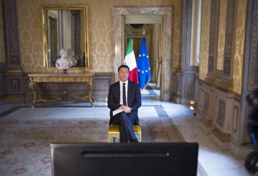 Matteo Renzi (Foto dal sito della Presidenza del Consiglio)