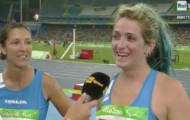 Monica Contrafatto e Martina Caironi, bronzo e oro nei 100 m femminili alle Paralampiadi 2016
