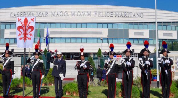 Inaugurata la nuova Scuola Marescialli dei Carabinieri