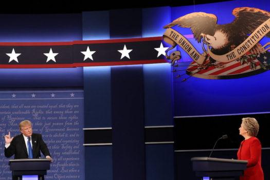Il primo dibattito in tv tra Hillary Clinton e Donald Trump