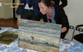 Un perito olandese esamina le tele di Van Gogh ritrovate a Napoli