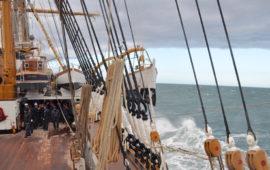 Nave Vespucci in navigazione