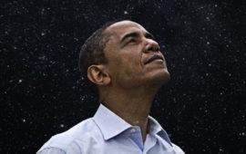 Barack Obama in una foto pubblicata da Cnn News