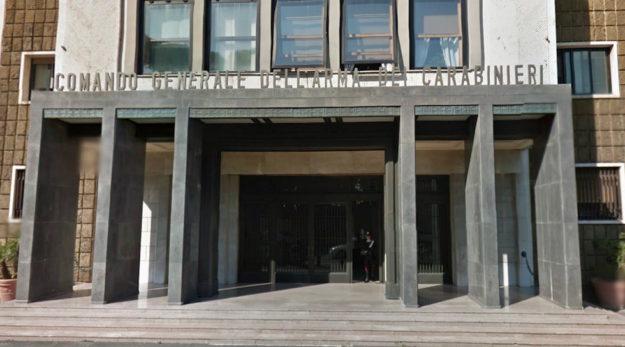 La sede del Comando Generale dei Carabinieri a Roma