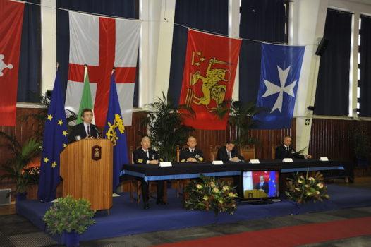 La Lectio Magistralis per l'inaugurazione dell'Anno 2016-2017 in Accademia Navale