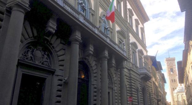 La sede della Banca d'Italia a Firenze