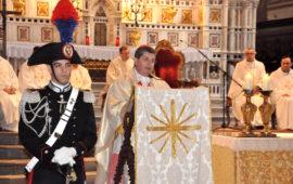 Il cardinale Giuseppe Betori alla Virgo Fidelis 2016 a Firenze