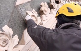 Controlli alla facciata esterna del Campanile di Giotto