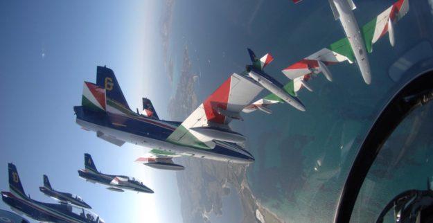 Frecce Tricolori in azione