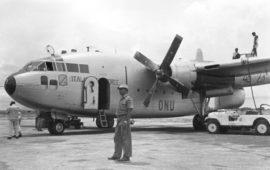 Un C119 della 46ª Aerobrigata di Pisa