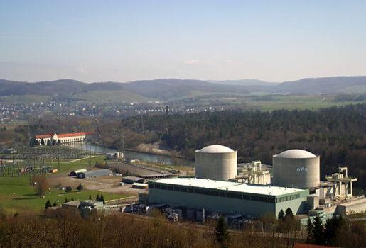 La centrale nucleare di Beznau in Svizzera