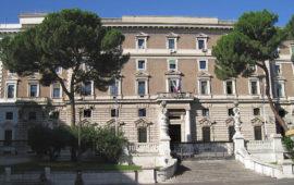 Il Viminale a Roma sede del ministero dell'Interno