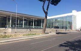 L'ingresso dell'Azienda Universitario Ospedaiiera di Careggi