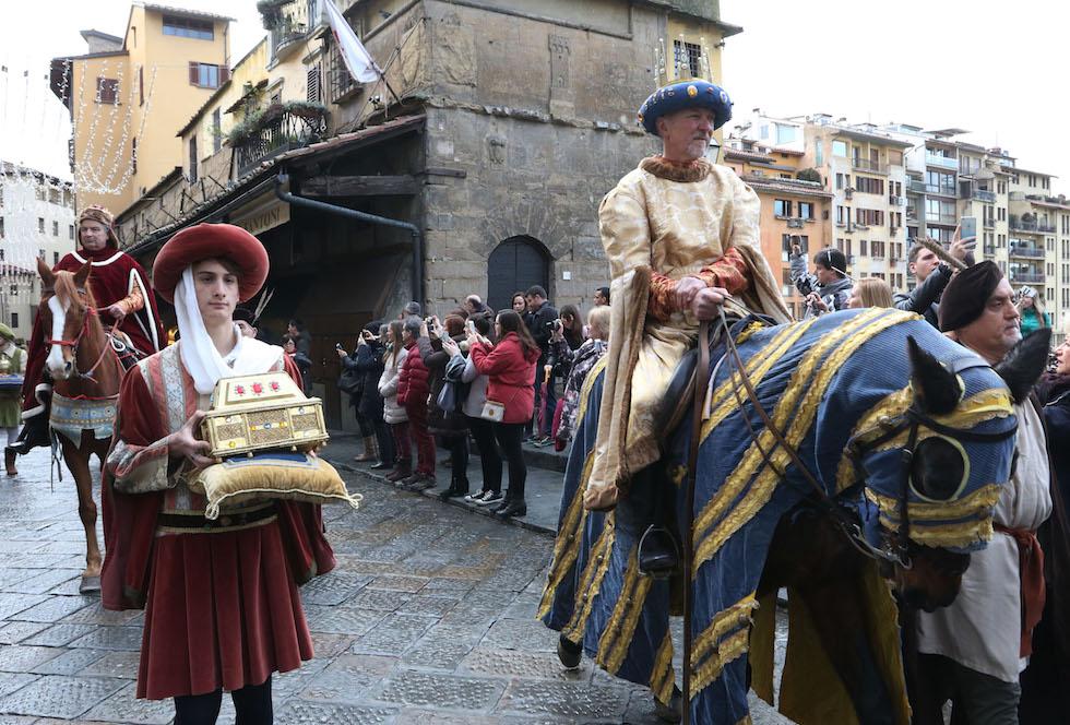 Epifania, cavalcata dei Magi (foto concessa da Opera del Duomo / Claudio Giovannini)