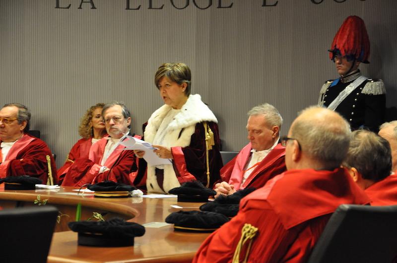 Margherita Cassano, presidente della Corte d'Appello di Firenze